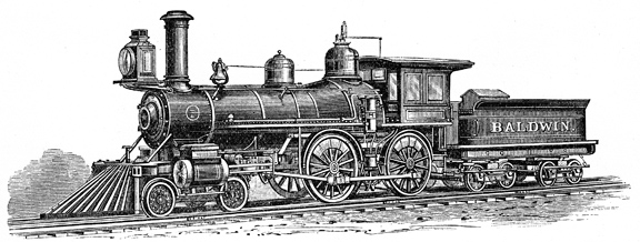 Baldwin-locomotive