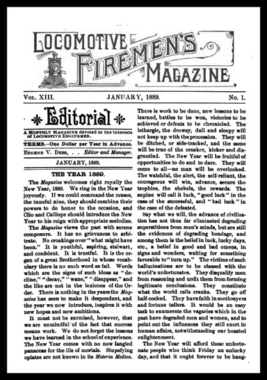 Locomotive Firemen's Magazine